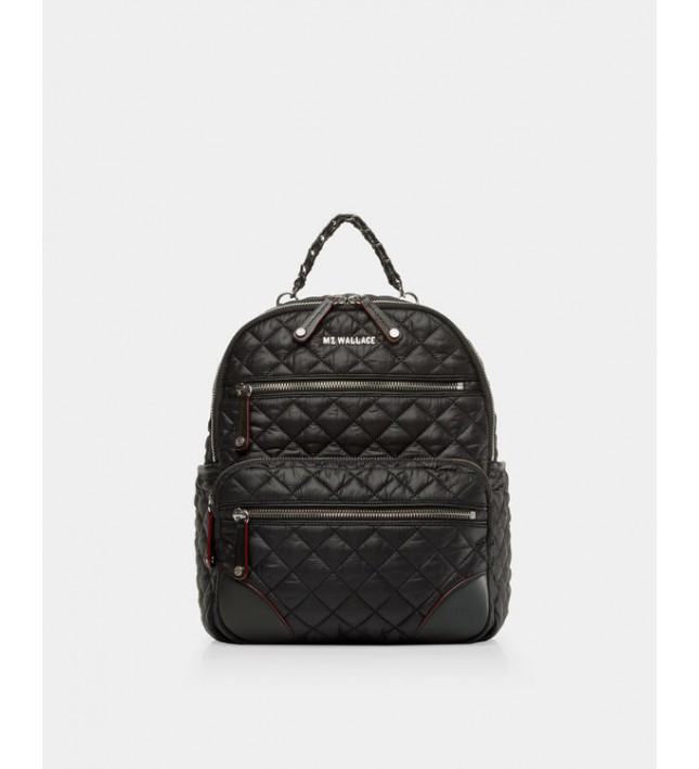 MZ Wallace Crosby Backpack Small Black 11470108