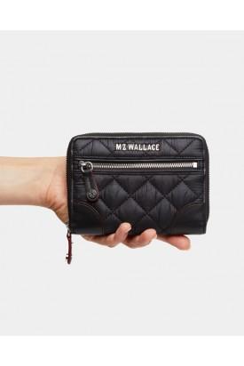 MZ Wallace Crosby Wallet Small Black 11600108